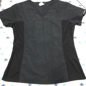 S Fitted Cherokee Scrub Top